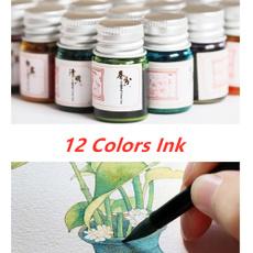 art, glasspen, Glitter, Ink