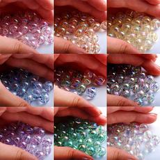 acrylicbead, charmbead, Jewelry, Glitter