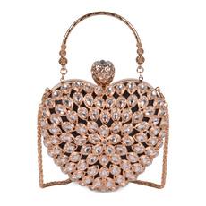 Heart, DIAMOND, Chain, purses