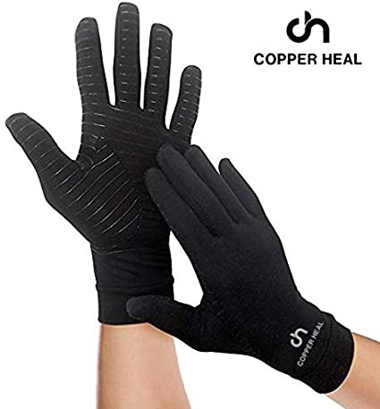 compressionglove, arthriti, Gloves, Copper
