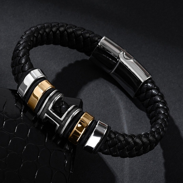 Charm Bracelet, Fashion, wovenbracelet, leather
