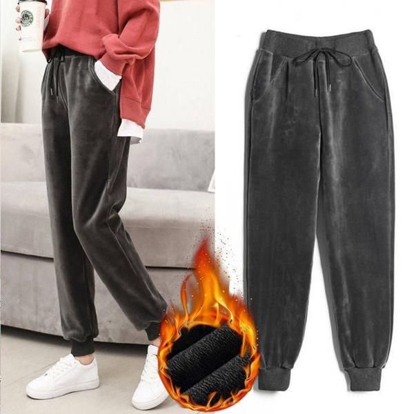 trousers, velvet, Winter, pants