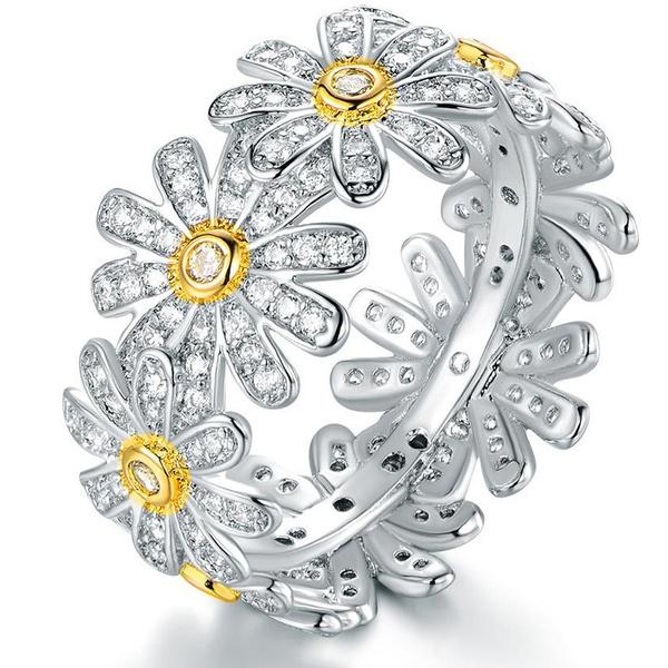 Sterling, DIAMOND, jewelry fashion, Engagement Ring