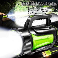 torchlight, Flashlight, huntinglight200w, Rechargeable