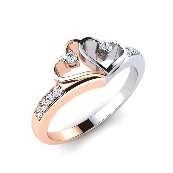 Sterling, Heart, Silver Jewelry, 925 silver rings
