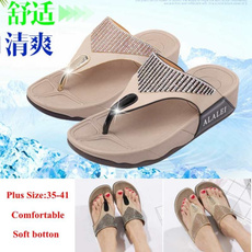 Summer, Flip Flops, Plus Size, Womens Shoes