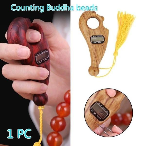 Gifts, electroniccounter, digitalfingercounter, buddhabead