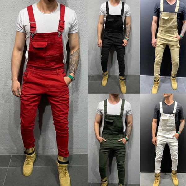 casualjumpsuit, Men's Fashion, pants, Denim