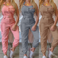 bodycon jumpsuits, Women Rompers, Slim Fit, Overoles