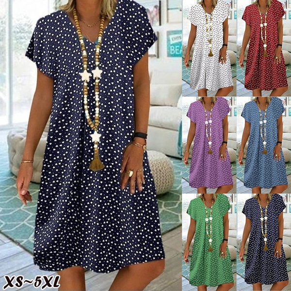 Summer, Plus Size, Dresses, Dress