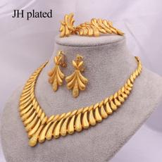 womenampgirlsampampampampladiesjewelryset, Bracelet, 24-k, Earring