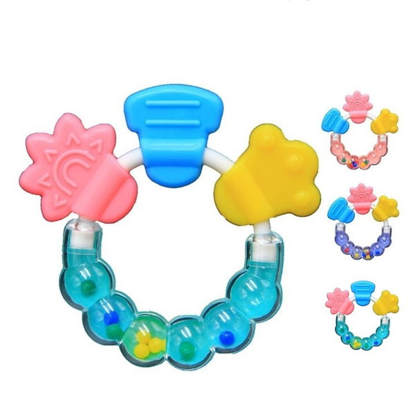 Baby, Toy, Bell, Silicone