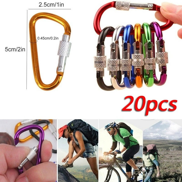 Carabiners, Outdoor, Key Chain, Clip