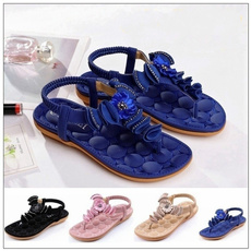 Sandals & Flip Flops, Flip Flops, Flowers, summersandal