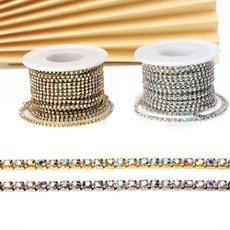 Embellishments, crystalrhinestonechain, diymaterial, Cup