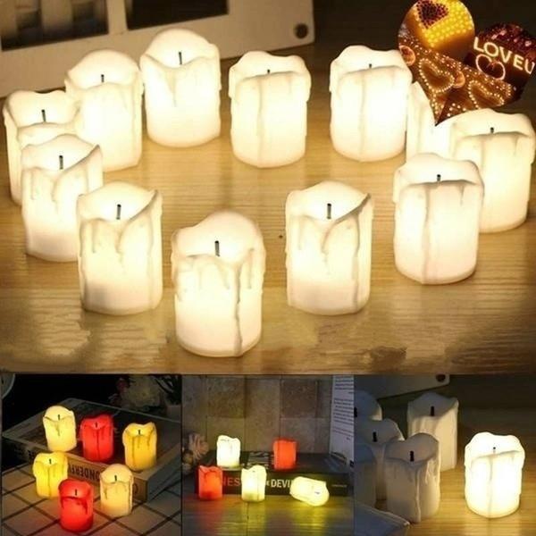 led, ledflamelesscandle, candleweddingparty, Halloween