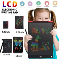 Fighrh LCD Writing Tablet with Memory Lock Handwriting Tablet Electronic Writing Board Digital Drawing Board LCD Graphic Drawing Tablet Electronic LCD Small Blackboard Size : B-9 inch with Lock