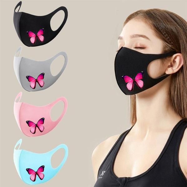 butterflyprint, butterfly, blackmask, mouthmuffle