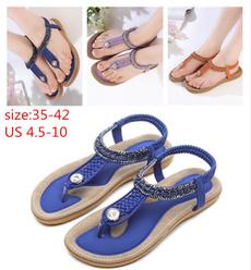 Sandals & Flip Flops, Flip Flops, Plus Size, shoes for womens
