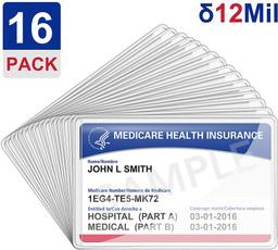 Heavy, medicarecardsleeveprotector, clearcardcase, creditcardsleeve