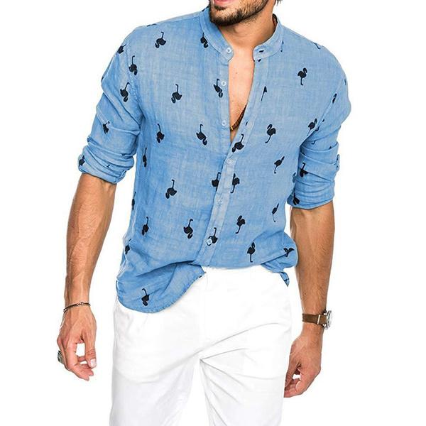 Fashion, standcollarshirt, partyshirt, fashion shirt