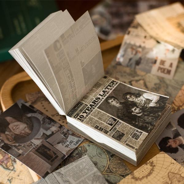 notes, Vintage, Materials, decoration
