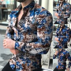 Fashion, Long Sleeve, Men, casual shirt