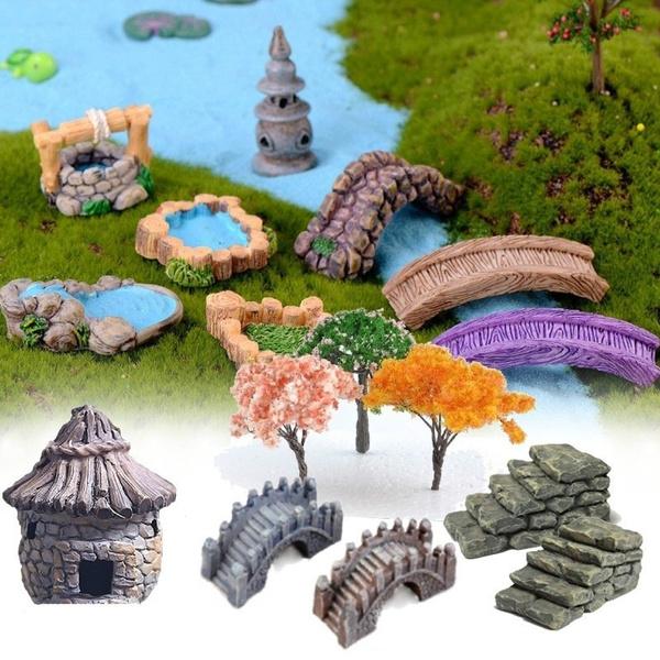miniaturegarden, fairy, Ornament, Dollhouse