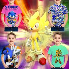 sonic, graphic tee, Tops, kidstshirt