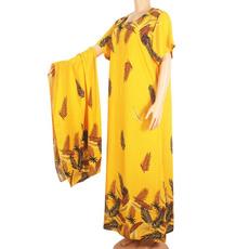 Cotton, Women, maxi summer dresses, Fashion