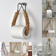 toiletpaperholder, toilet, Decoración, towelhangingrope