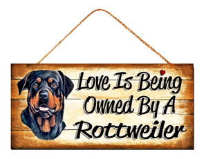 rottweiler, bestfriend, hangingplaque, Family