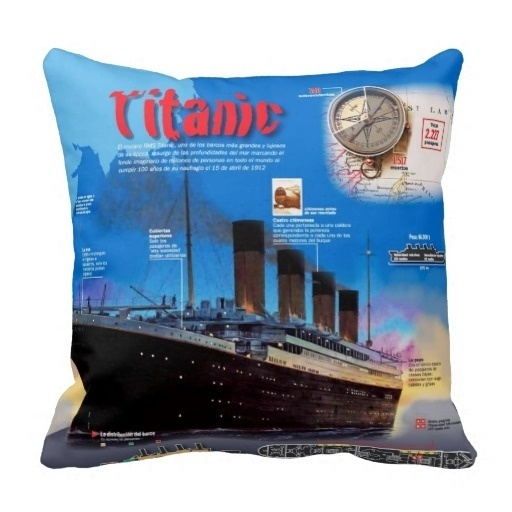 thermstitanicthrowpillowcase, case, titanic, bedpillowcover