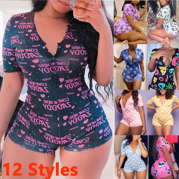 Summer, Plus Size, womensummerpajama, short sleeves