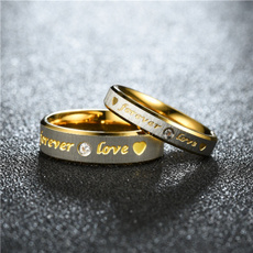 Couple Rings, finelycarvedwordring, Fashion, Love