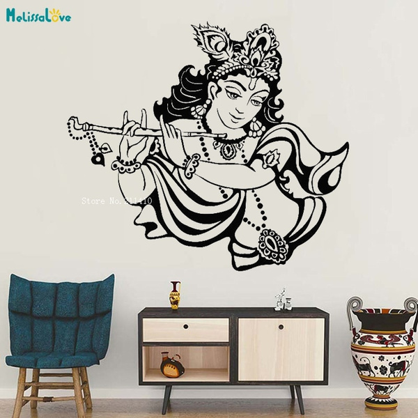 krishna, selfadgesive, art, Home