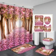 bathmatsforshower, Home Decor, Waterproof, showercurtainset