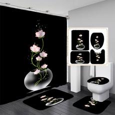 Bathroom Accessories, Home Decor, Waterproof, waterproofshowercurtain