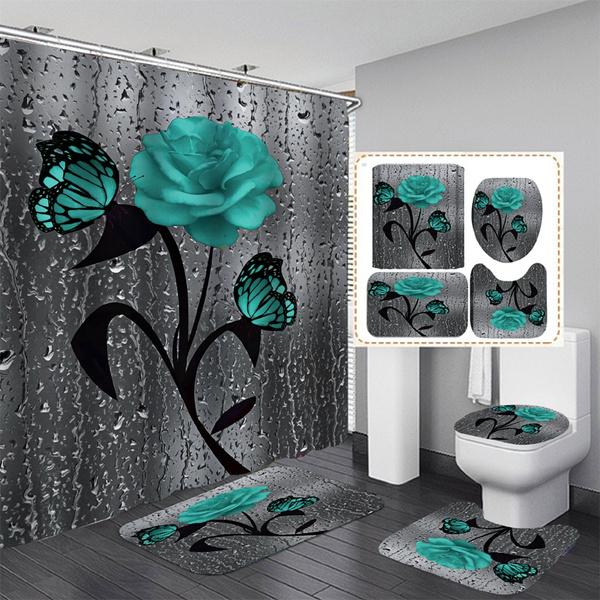 Home Decor, Waterproof, waterproofshowercurtain, Rugs