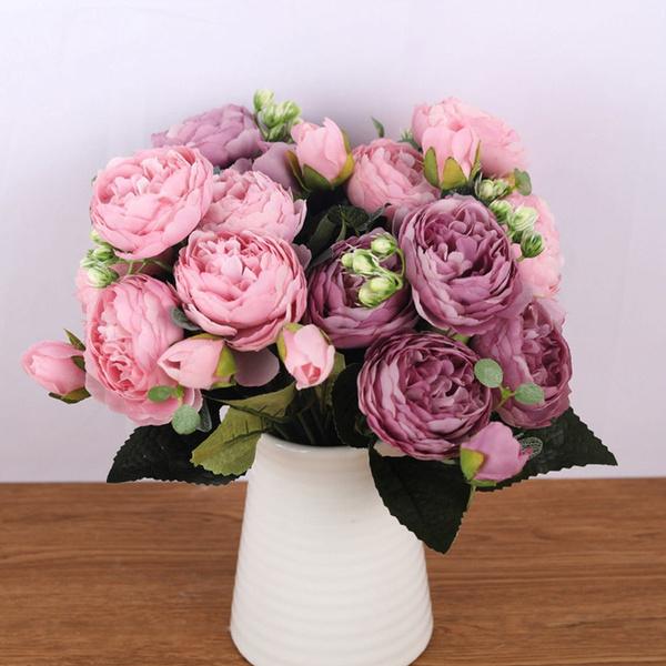 decoration, Flowers, peoniesbouquet, Garden