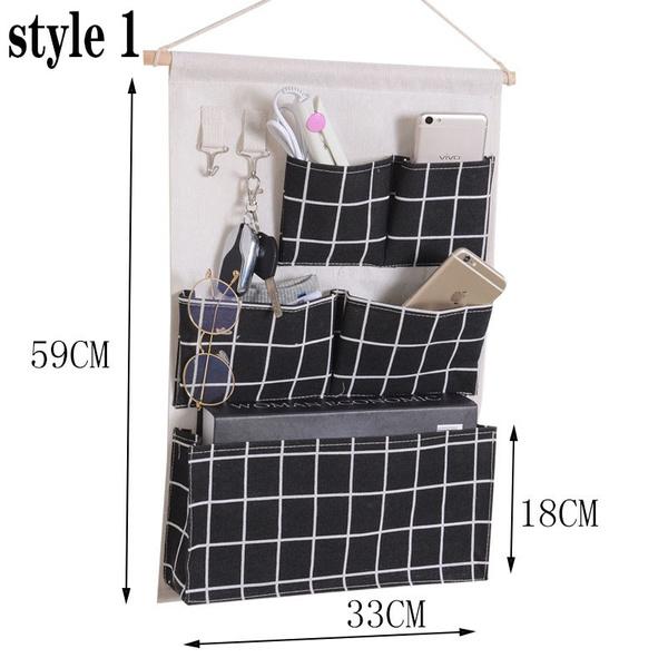 Pocket, Bathroom, Hooks, hangingbag