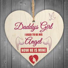 dad, Heart, bestfriend, hangingplaque