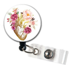 Heart, retractable, Gifts, Clip