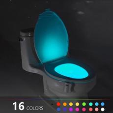 toilet, Bathroom, led, Color