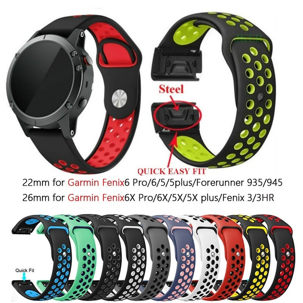 garminfenix3band, garminwatchband, garminfenix6band, Silicone