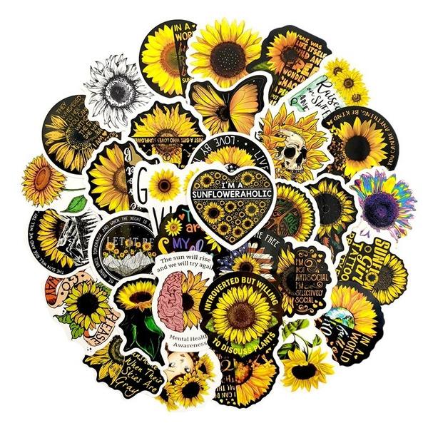botany, Toy, Sunflowers, Luggage