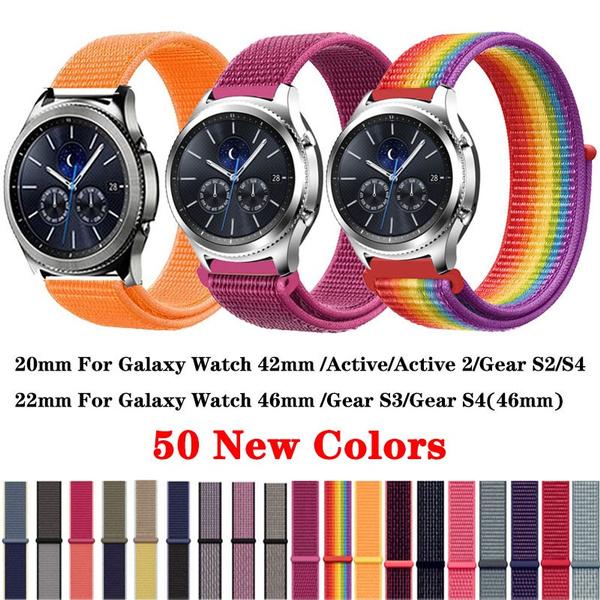 gears2classicwatchband, Nylon, Samsung, S3