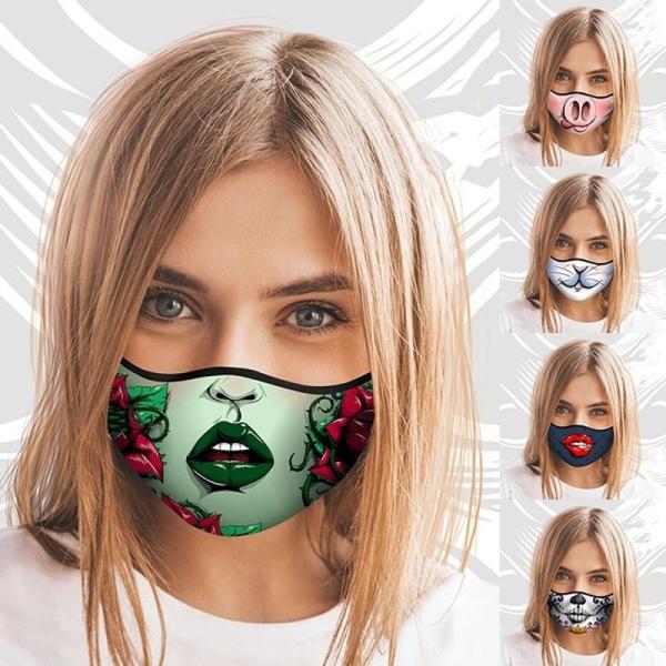washable, Cotton, Fashion, mouthmask