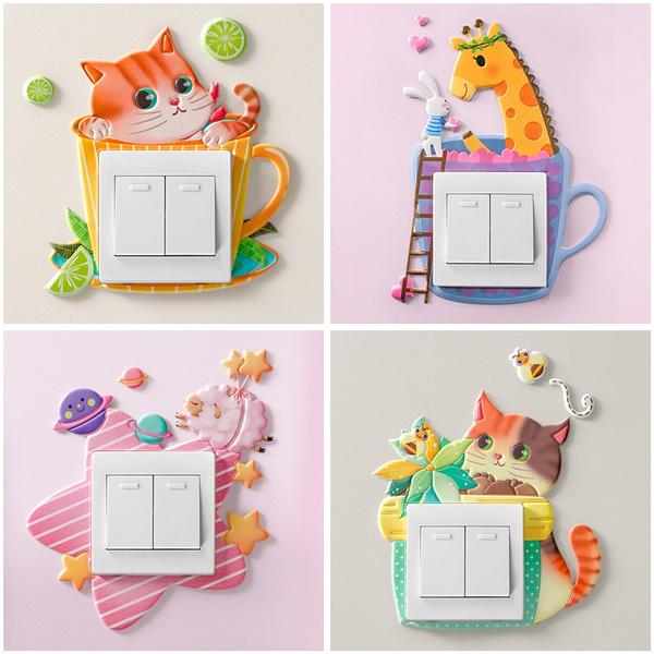 childrensroomdecoration, Animal, homeroomdecoration, Stickers