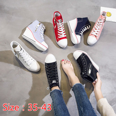 casual shoes, wedge, Outdoor, high heeled